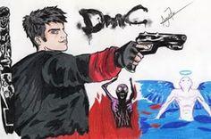 Dante Sparda (Devil May Cry)..Jogo ótimo!