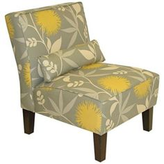 Gray Dandelion Chair