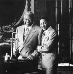 Ellis Marsalis, Piano; & Wynton Marsalis, Trumpet