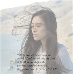 Loss. Memoirs of a Geisha. Most beautiful quote I've ever read..