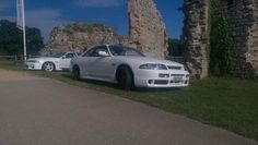 Check out this classic turbo. nissan skyline r33 gts25t
