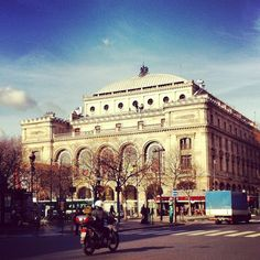 Theatre du Chatelet. Check out Brigette's review of Edmund White's Inside A Pearl: My Years In Paris here: http://chaptersandscenes.wordpress.com/2014/08/01/brigette-reviews-inside-a-pear-my-years-in-paris/