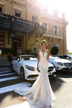 50+ Gorgeous Crystal Design Wedding Dress 2017 Trends