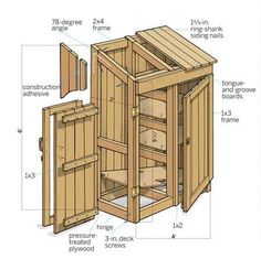 build a cedar shed free easy plans anyone can use to build their