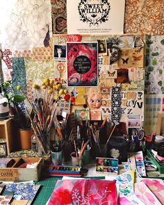 My crazy little studio...