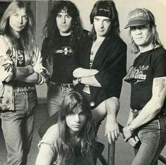 Iron Maiden-  early years