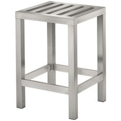 Conair The Brooklyn Collection Medium Bench (stainless Steel)