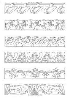 Art Nouveau Borders & Motifs (Design Source Books) [Paperback]: Judy Balchin: Amazon.com: Books