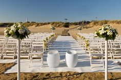 Wedding ceremony at Costa Ballena Beach. Elba hotel make it unforgetable.
