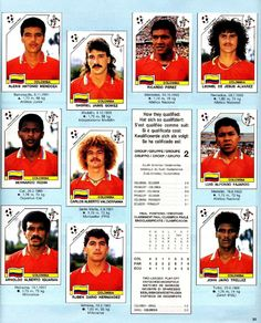 Old Colombia stickers!