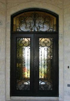 Valencia-2 - Wrought Iron Doors, Windows, Gates, & Railings from Cantera Doors