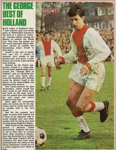 The #GeorgeBest of #Holland - #JohanCruyff #Ajax #Shoot! 1970-01-17