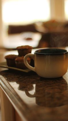 A hot cup of yummy to warm your hands on, fill your nostrils with sweet aromatic scents, and thaw the grumbles away. :)    ~Charlotte (PixieWinksFairyWhispers)