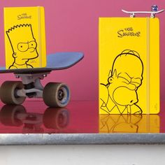 The Simpsons Limited Edition Notebooks from Moleskine is a nod to the longevity of The Simpsons – the longest-running TV show ever.