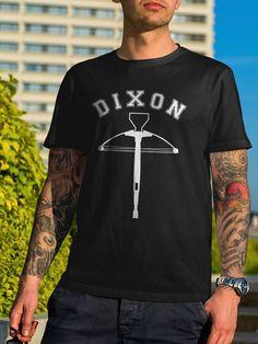 Daryl Dixon Bow The Walking Dead Fans T-Shirt