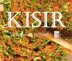 Le Blog d'Istanbul   Pour tout savoir sur Istanbul et la Turquie!: {Recette Turque} Le kisir, un taboulé à la turque Turkish Kitchen, Food And Drink, Vegetarian, Beef, Recipes, Date, Istanbul, Moment, Ainsi