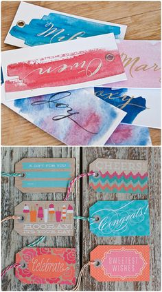 FREE printable tags for your d.i.y inspired day.