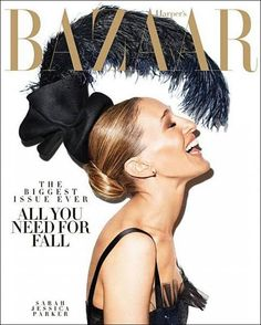 Magazine photos featuring Sarah Jessica Parker on the cover. Sarah Jessica Parker magazine cover photos, back issues and newstand editions. Sarah Jessica Parker, Magazine Mode, Magazine Editorial, Editorial Fashion, Harper's Bazaar, Bazaar Ideas, Cover Shoot, Best Fashion Magazines, Magazin Covers