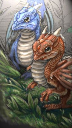 Dragon Chicks by DragonCid.deviantart.com on @deviantART