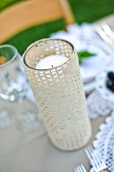 candle lace
