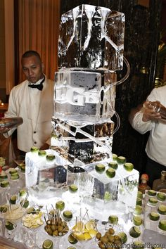 Patron from an Ice Luge was a unique way to get this party started! Consultant: Hope Weis Consulting