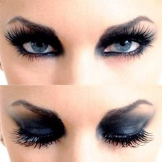 Love this Dark makeup look