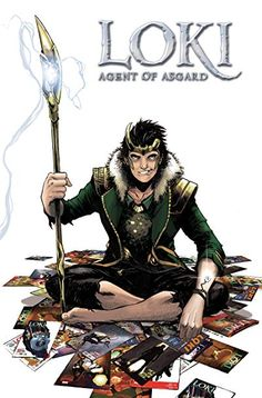 Loki: Agent Of Asgard - The Complete Collection - Marvel Comics Marvel Avengers Comics, Marvel Now, Loki Scepter, Thor, The Tesseract, Avengers Tattoo, Asgard, Avengers Outfits, Avengers Infinity War