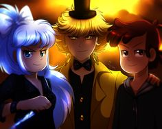 The Badass Trio by YogurtYard