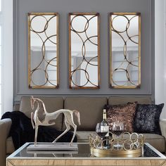 is our Brittany Mirror. By itself or in multiples, the Brittany Mirror creates a window like effect on your wall. Prepare your wall, because this mirror is in stock and ready to ship! Bronze Mirror, Metal Mirror, Wall Mounted Mirror, Metal Wall Art, Wall Mirror, Mirror Shop, Mirror Glass, Dining Room Mirror Wall, Living Room Mirrors