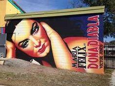 Doña Diabla mural