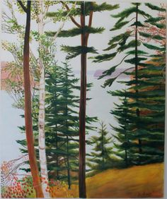 Jane Dahmen: Through the Trees  Some views of the upcoming show of Jane Dahmen's work for our Opening on Saturday, May 10th, from 4 - 7pm. Come see!  http://www.powersgallery.com/exhibit/index.html