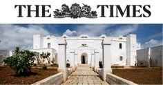 """Masserie, mare e ulivi, il Times guarda al Salento: """"Meglio della Toscana"""""""