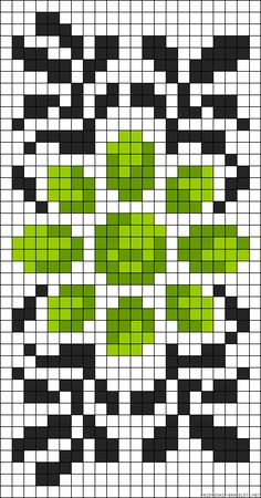Bead Loom Designs, Bead Loom Patterns, Beading Patterns, Embroidery Patterns, Crochet Cross, Crochet Chart, Knitting Charts, Knitting Patterns, Cross Stitch Designs