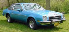 1979 Chevrolet Monza - My first Car looked like this but darker blue....