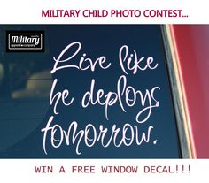 Month of the Military Child photo contest