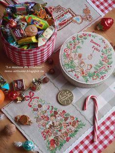 Друзья, как и обещала, сегодня у меня будет вкусно: сладкая вышивка и рождественская выпечка. Пришлось объединить все в один пост, т.к. ...