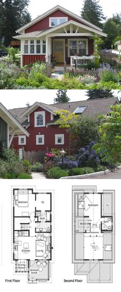 Ross Chapin Architects - Coho Cottage :: 1168 sq. ft.