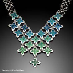 Enamel Jewelry by Sandra McEwen