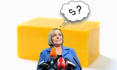 """The leader of the National Party, Judith Collins, doesn't know how much cheese costs.   Yesterday, the nation stopped when one of the hosts of The Project, Josh Thomson, asked Judith Collins how much a 1kg block of cheese cost.  """"I think it's about $4 or $5 – something like that, depending on t Block Of Cheese, Food Insecurity, Dried Beans, Powdered Milk, Being In The World, Food To Make, Things To Think About, Party"""