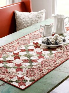 Free pattern online for this table runner..