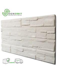 pannello finta pietra ricostruita effetto 3d superficie verniciabile Resin