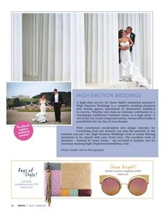 Time to drink champagne and dance on the table! High Emotion Weddings is featured in the Destination Weddings & Honeymoons Abroad Magazine UK! Planner Tips, Happy Planner, Destination Wedding Planner, Wedding Planning, Getting Married Abroad, Wedding Honeymoons, Happy Weekend, Luxury Wedding, Got Married