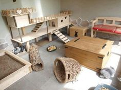 Bunny room. I WANT! When we move to the farm of course.