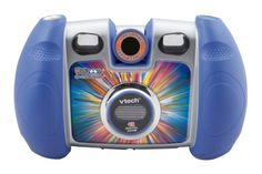 Vtech - Kidizoom Spin Smile Digital Camera - Vtech - Kidizoom Spin & Smile Digital Camera Real megapixel camera with digital zoom, self-timer and 5 included gamesRotating lens lets you take self portraits or take photos with funny sta Toy Camera, Best Camera, Kids Digital Camera, Digital Cameras, Nikon, Appareil Photo Reflex, V Tech, Kids Electronics, Cool Mom Picks