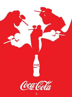 Coca - Cola Paintball.