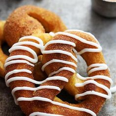Cinnamon Sugar Pumpkin Soft Pretzels Recipe - ZipList