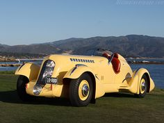 1935 Duesenberg SJ 'Mormon Meteor' Special - Though Duesenberg engineering won many races, the hefty price-tag and the Depression brought an end to the stellar and stylish cars as the company closed its doors for good in 1937.
