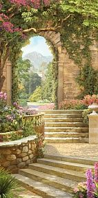 Gardens Discover Wall Murals Painted Landscape Ideas For 2019 Beautiful Paintings Beautiful Landscapes Beautiful Gardens Mural Art Wall Murals Wall Art Landscape Art Landscape Paintings Terre Nature Beautiful Paintings, Beautiful Landscapes, Beautiful Gardens, Landscape Art, Landscape Paintings, Terre Nature, Cool Pictures, Beautiful Pictures, Diy Garden Fountains