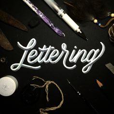 Lettering .