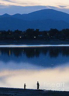 Fishing buddies by Diane M Dittus